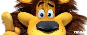 Robert est un lion 3d, mais ne lui dites surtout pas.