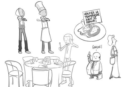 Sketch Restaurant