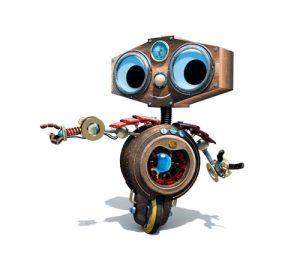 Mascotte pour le musée de l'hydroélectricité Hydrelec.